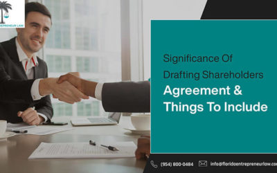Significance Of Drafting Shareholders' Agreement And Things To Include